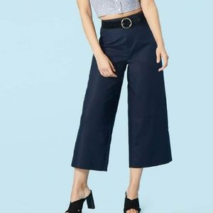 F21 Contemporary High Rise Wide Leg Pants